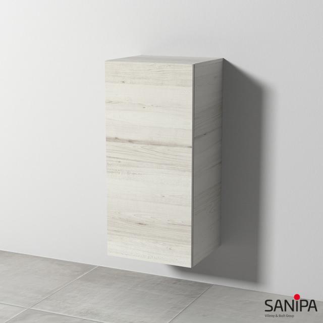 Sanipa Solo One Euphoria/Harmonia Mittelschrank mit 1 Tür Front linde hell / Korpus linde hell