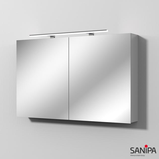 Sanipa Solo One Spiegelschrank ALINA mit LED-Beleuchtung