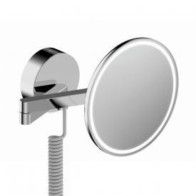 sam candeo Wand-Kosmetikspiegel Ø 207 mm, 3-fache Vergrößerung, LED