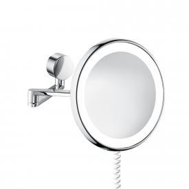 sam universal LED-Kosmetikspiegel Ø 257 mm, mit Spiralkabel