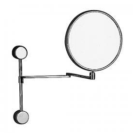 sam Wand-Kosmetikspiegel auf Wandstange Ø 210 mm, 2,5-fach Vergrößerung H: 333 mm
