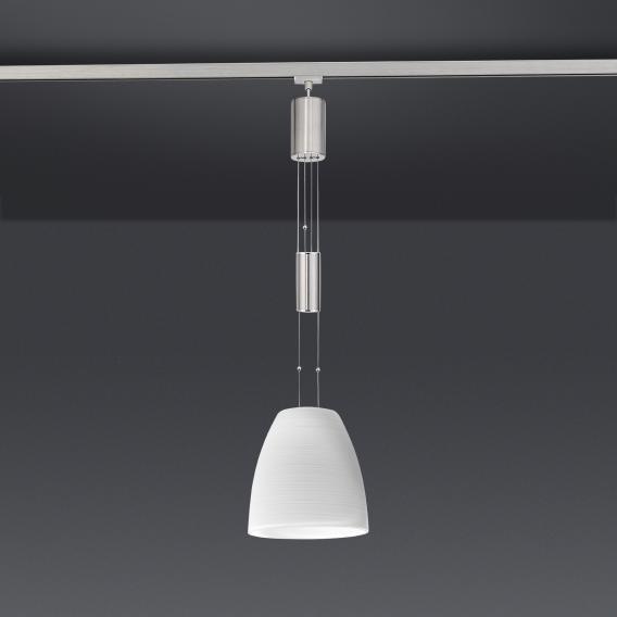 FISCHER & HONSEL LED Pendelleuchte mit Glas für HV-Track 4 Systeme