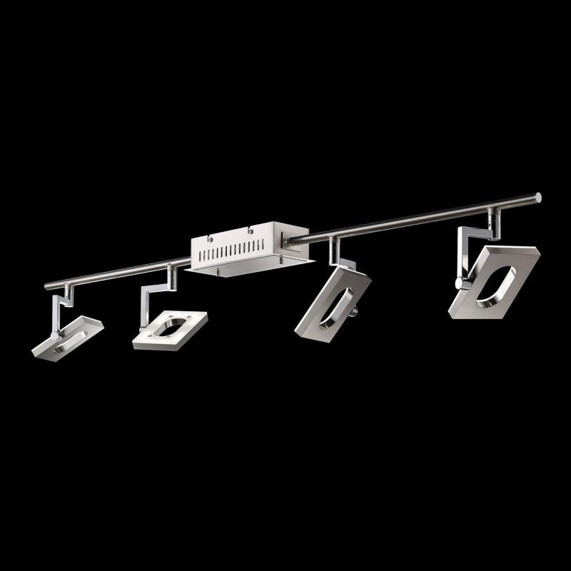fischer honsel les mans led deckenspot 4 flammig 16504 reuter. Black Bedroom Furniture Sets. Home Design Ideas