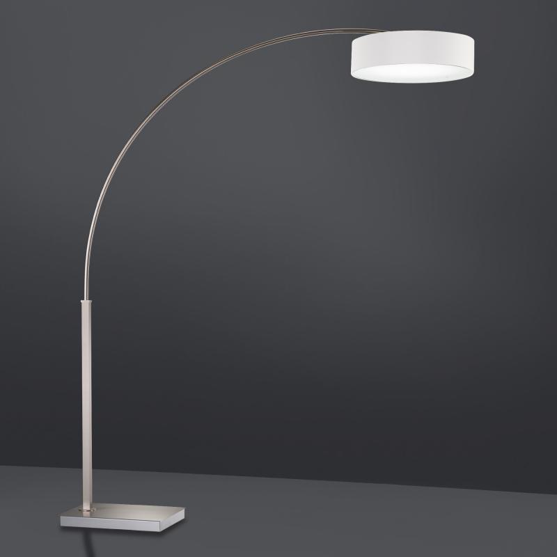 shine by fischer led stehleuchte mit dimmer 754401 29800 27800 reuter. Black Bedroom Furniture Sets. Home Design Ideas