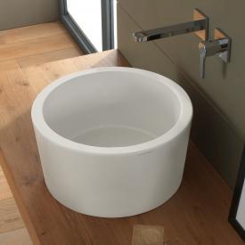Scarabeo Bucket Aufsatzwaschbecken weiß matt, mit BIO System Beschichtung