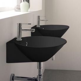 Scarabeo Cono R Aufsatz- oder Hängewaschbecken schwarz matt