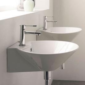 Scarabeo Cono R Aufsatz- oder Hängewaschbecken weiß