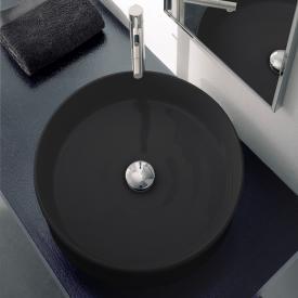 Scarabeo Geo Aufsatzwaschbecken schwarz