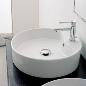 Scarabeo Geo R Aufsatzwaschbecken weiß