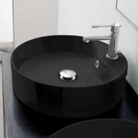 Scarabeo Geo R Aufsatzwaschbecken schwarz