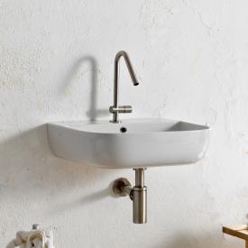 Scarabeo Glam Aufsatz- oder Hängewaschbecken weiß, mit BIO System Beschichtung