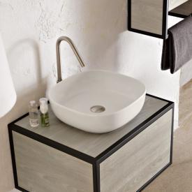 Scarabeo Glam Aufsatzwaschbecken weiß matt, mit BIO System Beschichtung