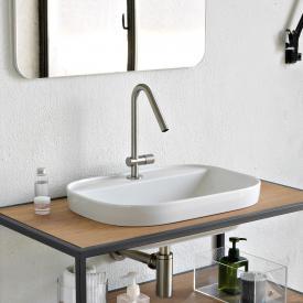 Scarabeo Glam Einbauwaschbecken weiß, mit BIO System Beschichtung