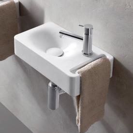 Scarabeo Hung Hängewaschbecken weiß, mit BIO System Beschichtung