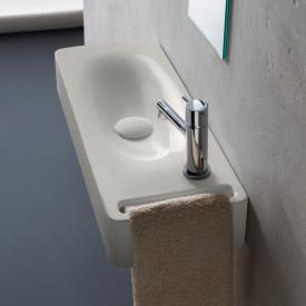 Scarabeo Hung Hängewaschbecken weiß matt, mit BIO System Beschichtung
