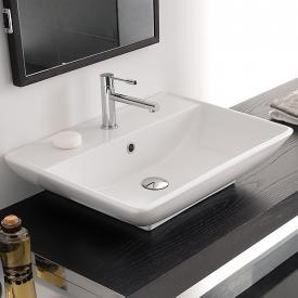 Scarabeo Kylis R Aufsatz- oder Hängewaschbecken weiß