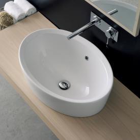 Scarabeo Matty Tondo Ovale A Einbauwaschbecken weiß