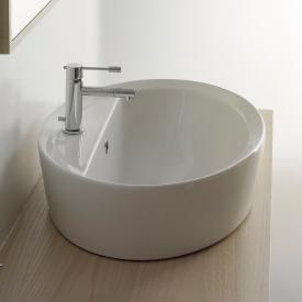 Scarabeo Matty Tondo Ovale AR Einbauwaschbecken weiß