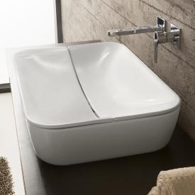 Scarabeo Mizu + Cover Aufsatzwaschbecken weiß