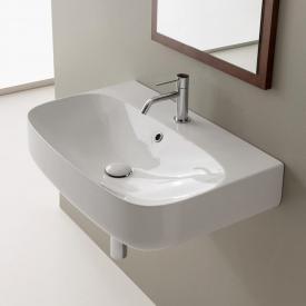 Scarabeo Moon Aufsatz- oder Hängewaschbecken weiß