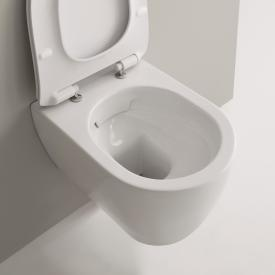 Scarabeo Moon Wand-Tiefspül-WC, ohne Spülrand weiß