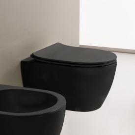 Scarabeo Moon Wand-Tiefspül-WC schwarz matt