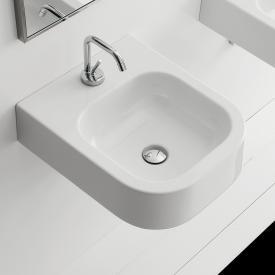 Scarabeo Next Aufsatz- oder Hängewaschbecken weiß