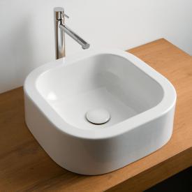 Scarabeo Next Aufsatzwaschbecken weiß