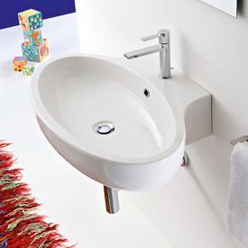 Scarabeo Planet Aufsatz- oder Hängewaschbecken weiß