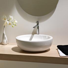 Scarabeo Planet Ovale Aufsatzwaschbecken weiß