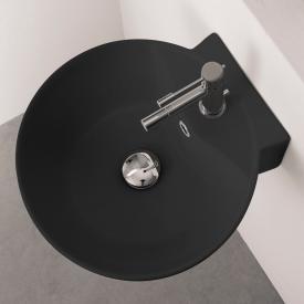 Scarabeo Sfera R Aufsatz- oder Hängewaschbecken schwarz matt