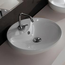 Scarabeo Shape Aufsatzwaschbecken weiß