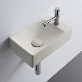 Scarabeo Soft Aufsatz- oder Hängewaschbecken weiß matt, mit BIO System Beschichtung