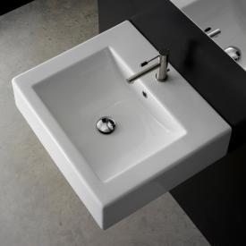 Scarabeo Square B Aufsatz- oder Hängewaschbecken weiß