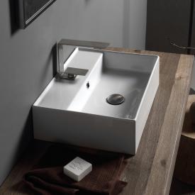 Scarabeo Teorema 2.0 Aufsatz- oder Hängehandwaschbecken weiß
