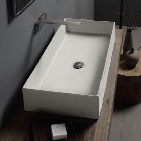 Scarabeo Teorema 2.0 Aufsatzwaschbecken weiß matt, mit BIO System Beschichtung