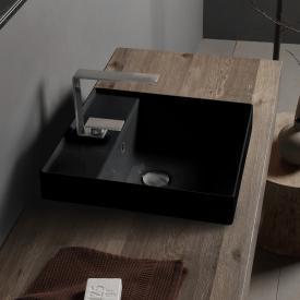 Scarabeo Teorema 2.0 Einbauwaschtisch schwarz, mit BIO System Beschichtung