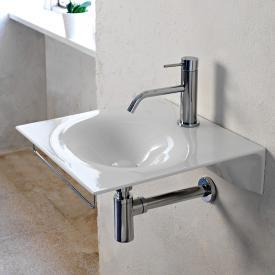 Scarabeo Veil Handwaschbecken weiß, mit BIO System Beschichtung