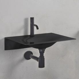 Scarabeo Veil Waschtisch schwarz, mit BIO System Beschichtung