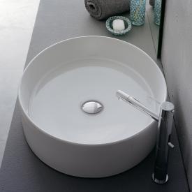 Scarabeo Wind Aufsatzwaschbecken weiß