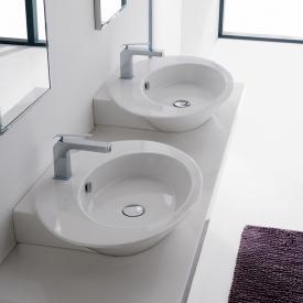Scarabeo Wish Aufsatz- oder Hängewaschbecken, symmetrisch weiß