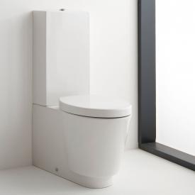 Scarabeo Wish Monoblock Stand-Tiefspül-WC für Kombination weiß, mit BIO System Beschichtung