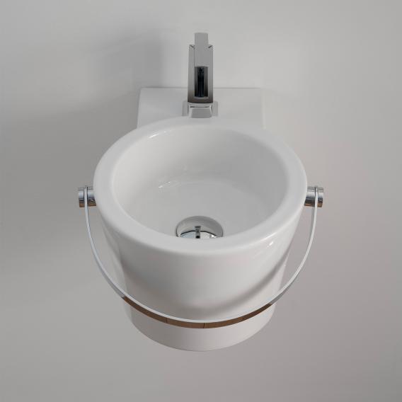 Scarabeo Bucket Aufsatz- oder Hängewaschbecken weiß