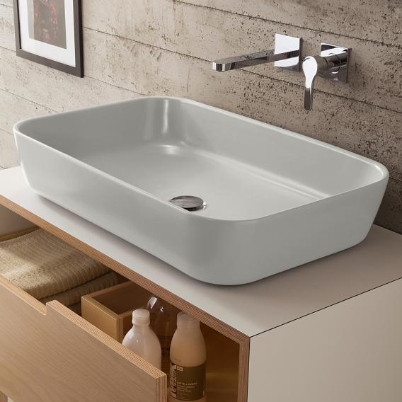 Scarabeo Mizu 70 Aufsatzwaschbecken weiß, mit BIO System Beschichtung