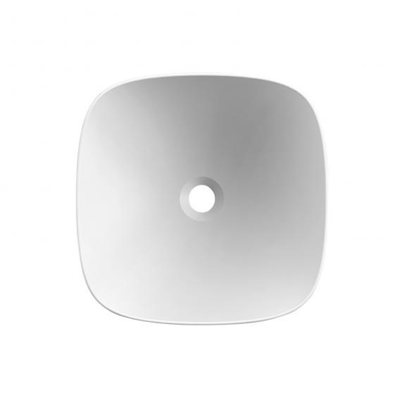 Scarabeo Moon Aufsatzwaschbecken weiß, mit BIO System Beschichtung