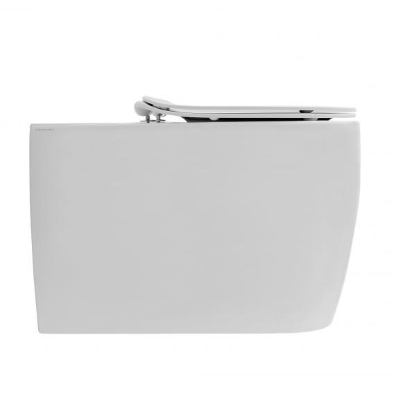 Scarabeo Moon Monoblock Stand-Tiefspül-WC für Kombination weiß