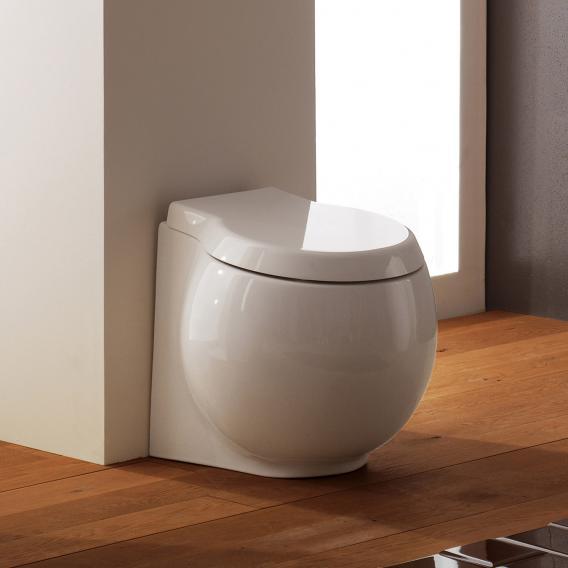 Scarabeo Planet Stand-Tiefspül-WC weiß, mit BIO System Beschichtung