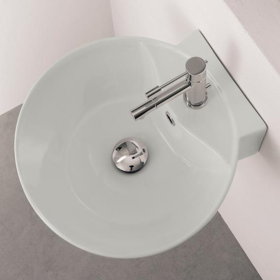 Scarabeo Sfera R Aufsatz- oder Hängewaschbecken weiß, mit BIO System Beschichtung