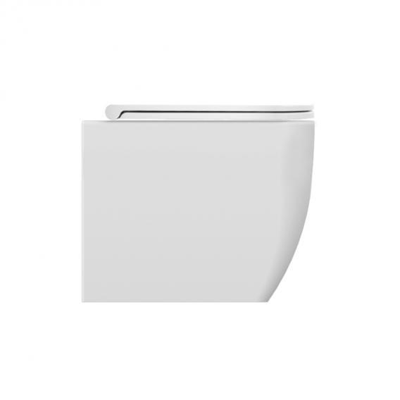 Scarabeo Teorema 2.0 Stand-Tiefspül-WC schwarz, mit BIO System Beschichtung