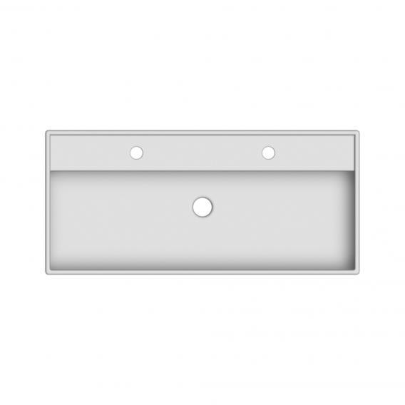 Scarabeo Teorema RB Doppel-Aufsatz- oder Hängewaschbecken weiß
